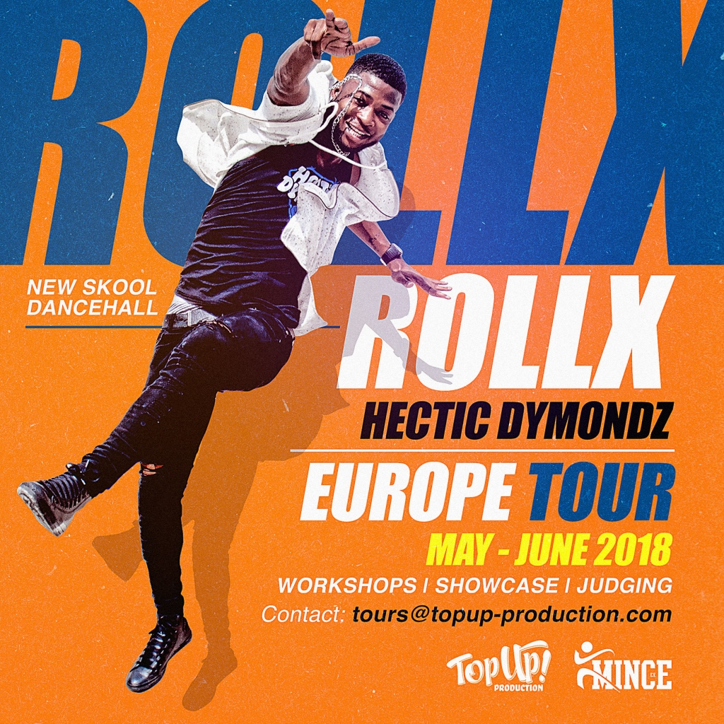 Rollx Hectic Dymondz Europe Tour