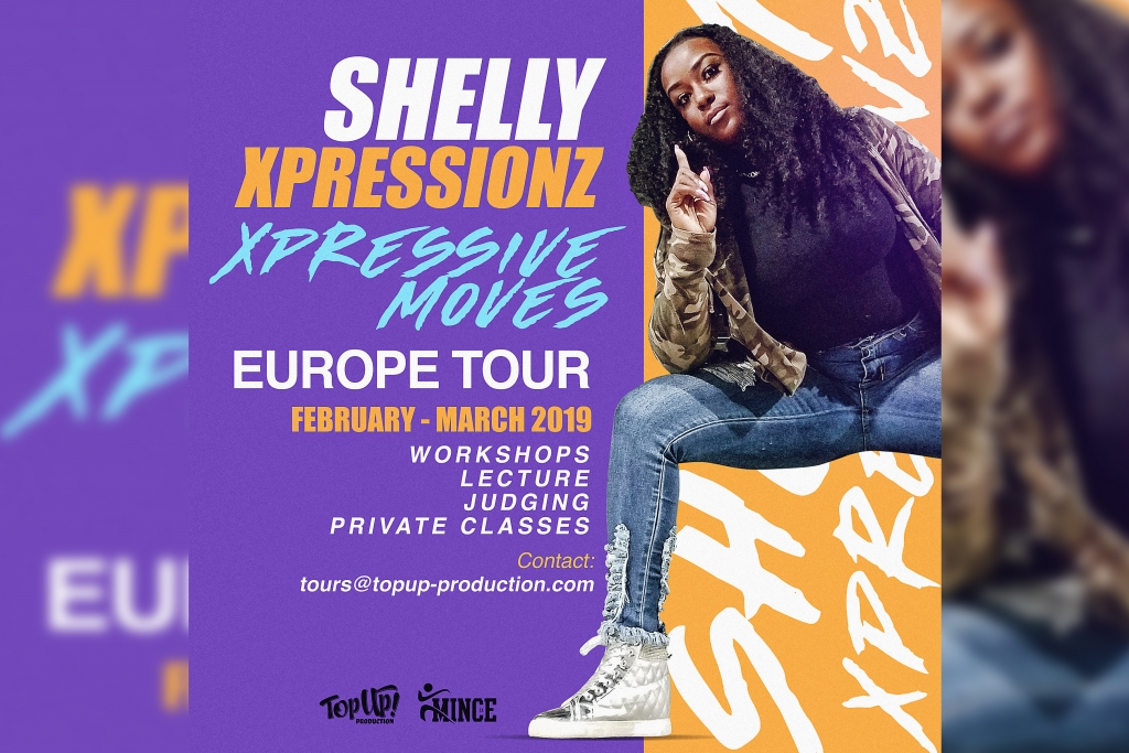 Shelly Xpressionz Europe Tour 2019