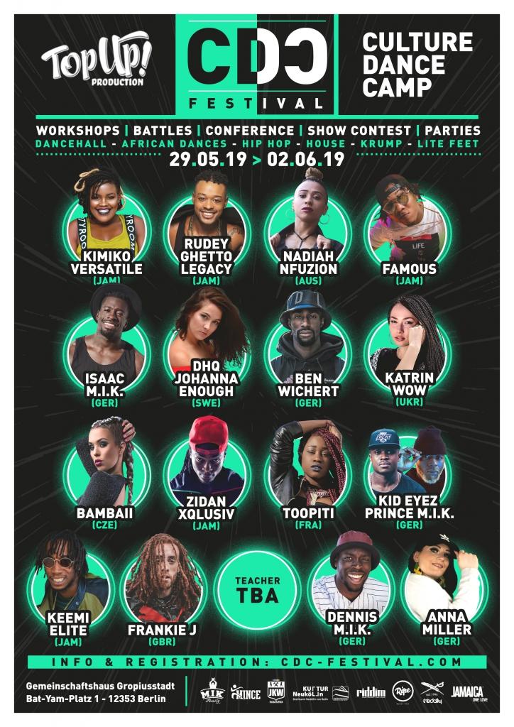 Culture Dance Camp 2019