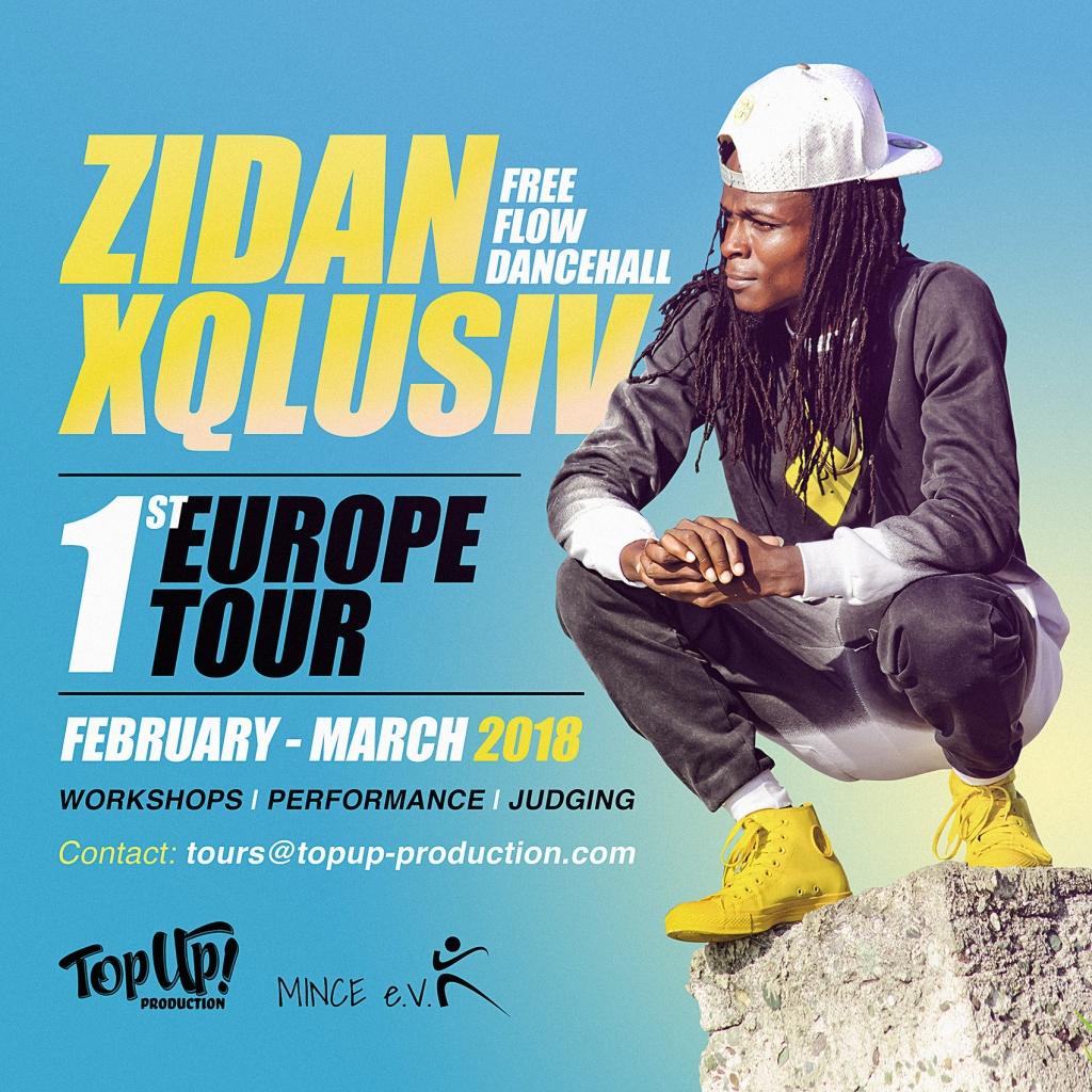 Zidan Xqlusiv Europe Tour 2018